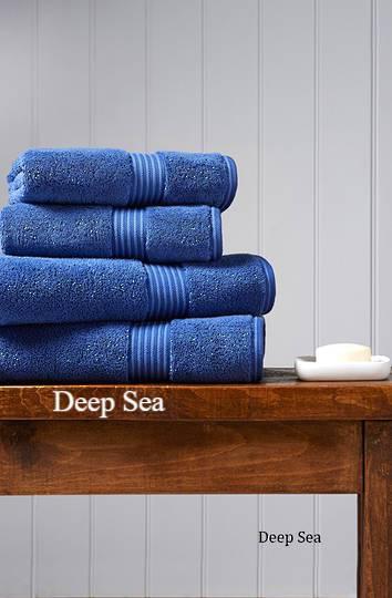 Seneca - Christy Supreme Hygro Towels, Hand Towels & Face Cloths - Deep Sea