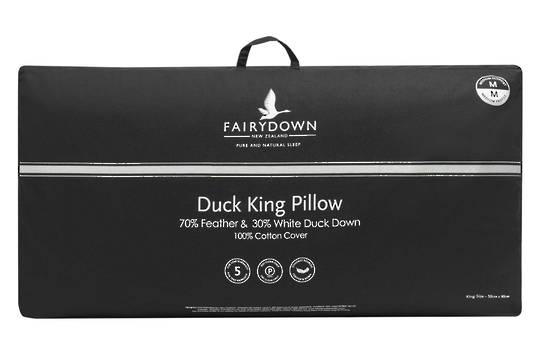 Fairydown  - King Duck Feather & Down Pillow 70/30