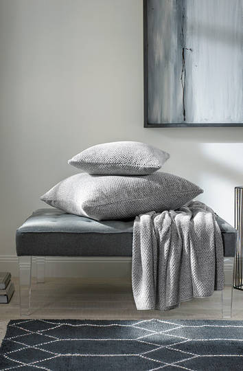 Sheridan - Earley Throw & Cushions - Dove