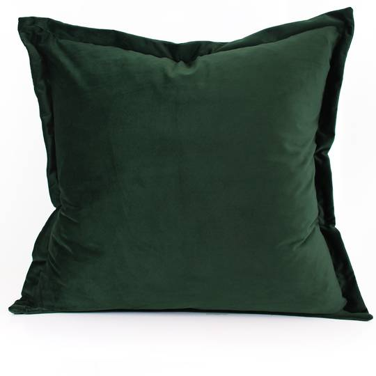 NZ Merchants - Edens - Savoy Cushion - Forest Green