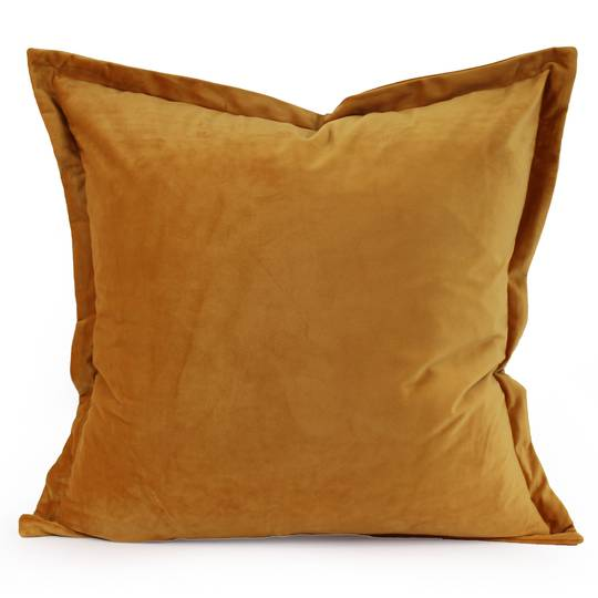 NZ Merchants - Edens -  Savoy Cushion - Mustard