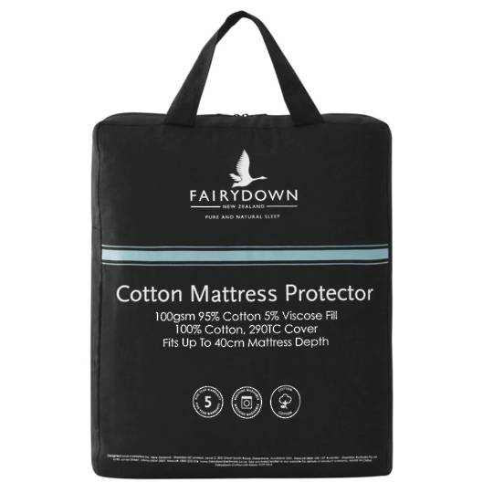 Fairydown - All Natural Cotton Mattress Protector