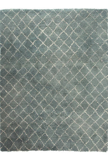 MM Linen - Flokati Diamond Floor Rug