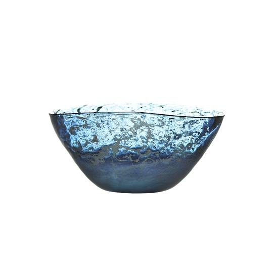 Importico - Voyage Maison Glass - Thalassa Bowl - Sapphire