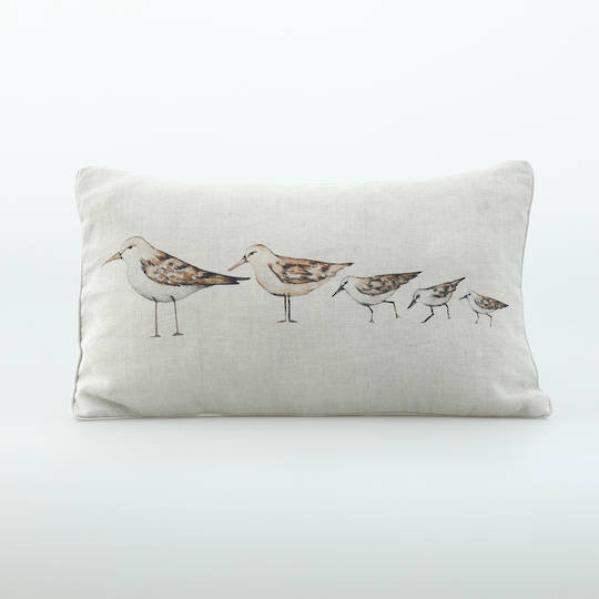 MM Linen - Gull Cushion