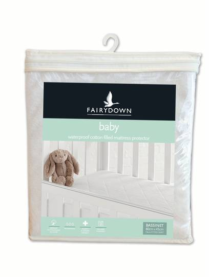 Fairydown - Babies Cotton Waterproof Mattress Protector