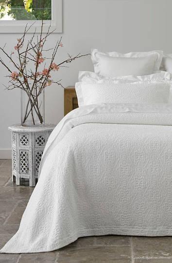 Baksana - Serenity White Bedspread Set