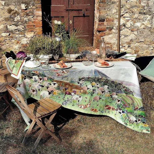Importico - Tessitura Toscana Telerie - Heidi Cotton Table Cloths
