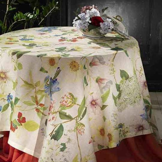 Importico - Tessitura Toscana Telerie - Ibisco Linen Table Cloths