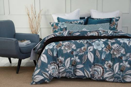 MM Linen - Lark Duvet Set - Teal