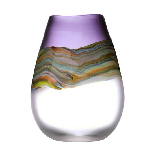 Importico - Voyage Maison Glass - Lucius Tall Vase - Amethyst