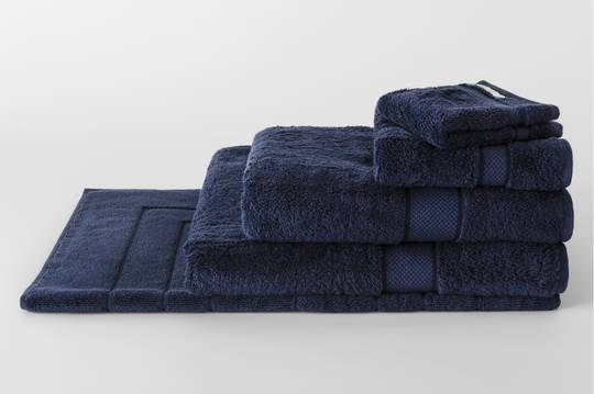 Sheridan - Luxury Egyptian Cotton Towel & Face Washer - Royal Navy