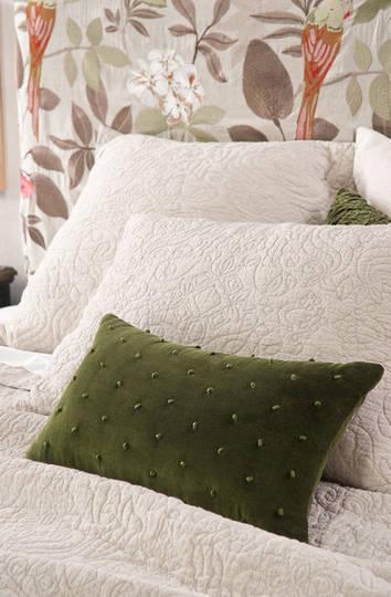 Bianca Lorenne Mica Cushion -  Green