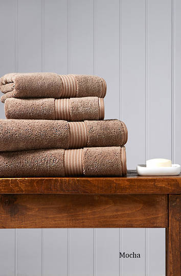 Seneca - Christy Supreme Hygro Towels, Hand Towels & Face Cloths - Mocha