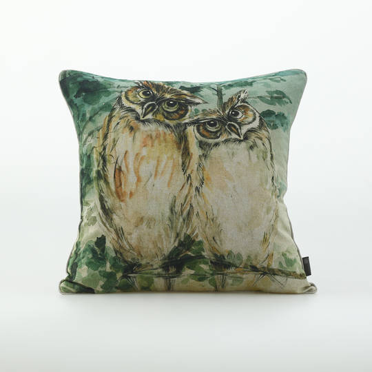 MM Linen - Owl Cushion