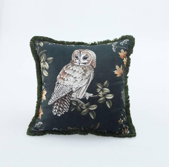 MM Linen - Owlbert Cushion