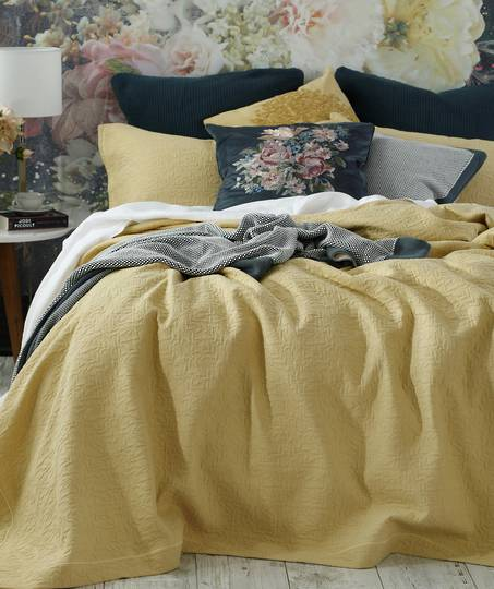 MM Linen - Nina Bedspread Set - Corn