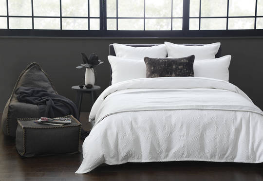 MM Linen - Taika Duvet Set - White
