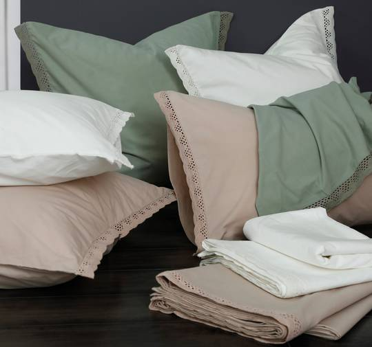 MM Linen - Lacey Sheet Sets