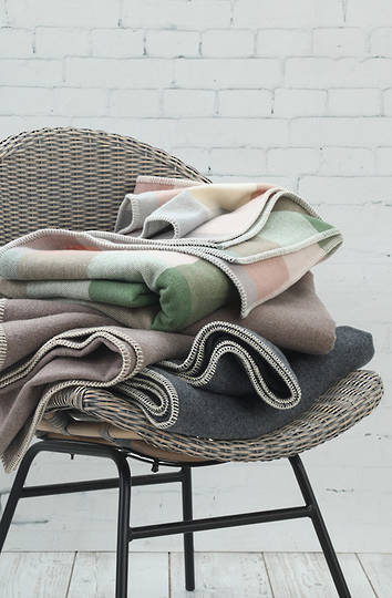 MM Linen -  Akaroa NZ Wool Blanket