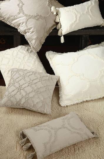 MM Linen - Clover Ivory Cushions