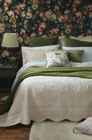 MM Linen - Ara Bedspread Set -   Shell