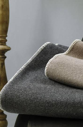 MM Linen - Wellshead NZ Wool Blanket - Charcoal