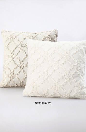 MM Linen - Clover Natural Cushion