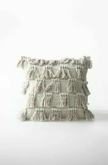 MM Linen - Fringe Cotton Cushion