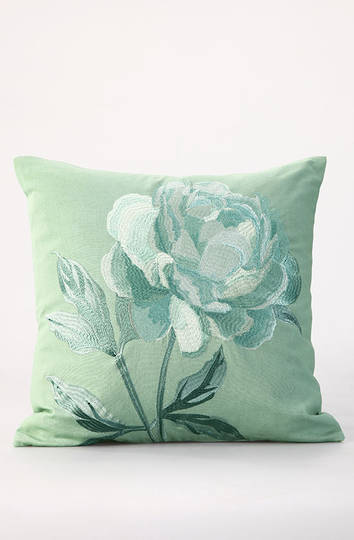 MM Linen - Padova Embroidered Cotton Cushion