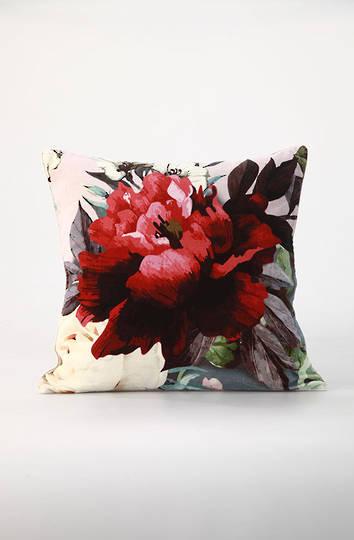 MM Linen - Peony Velvet Cushion
