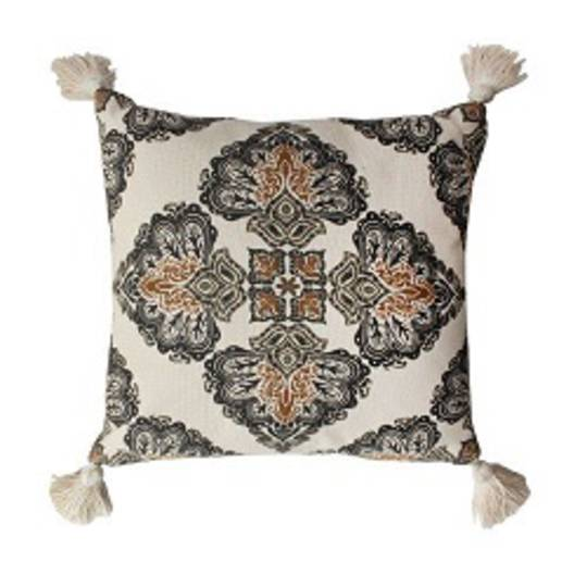 NZ Merchants -  Paisley Cushion - Multi