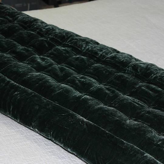 Seneca - Velvet Pin Comforter - Liquorice