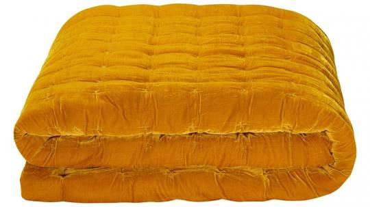 Seneca - Velvet Pin Comforter - Mustard
