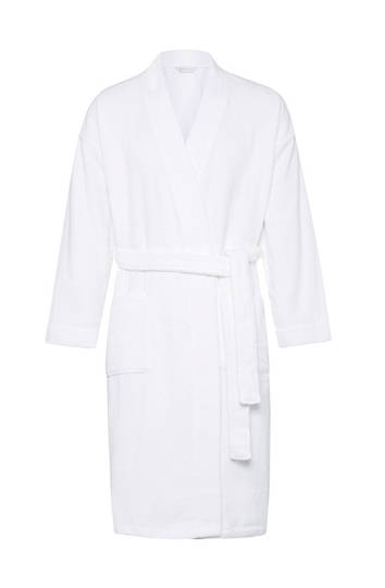 Sheridan - Quick Dry Luxury Unisex Robe - White