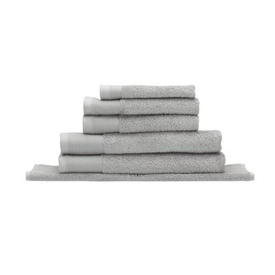 Seneca - Vida Organic Towels, Face Clothes, Hand Towels, Bath Mats - Silver