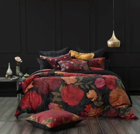 MM Linen - Sumi Velvet Duvet Set