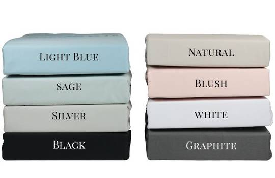 Top Drawer - 300TC 100% Cotton Sateen Sheet Sets
