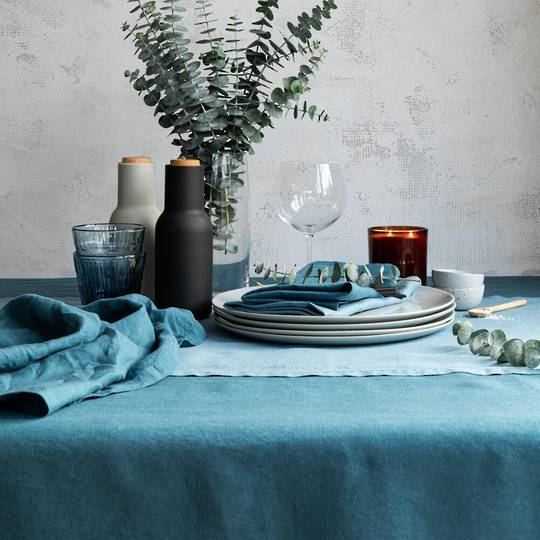 Baksana - Linen Table Runners & Napkins
