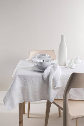 Importico - Himla Napkins/Table Runner/Tablecloths - White