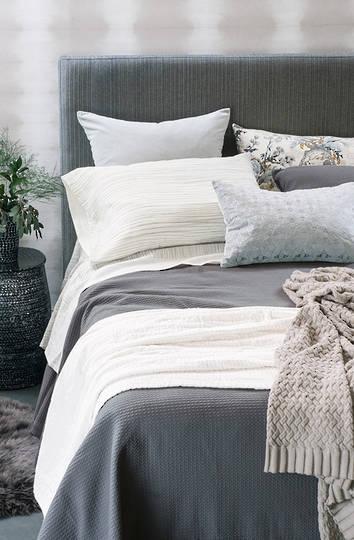 Bianca Lorenne - Valentina Slate Bedspread / Pillowcase/Eurocase