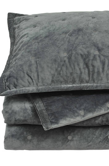 MM Linen - Vivi Comforter Set - Charcoal - ON SALE