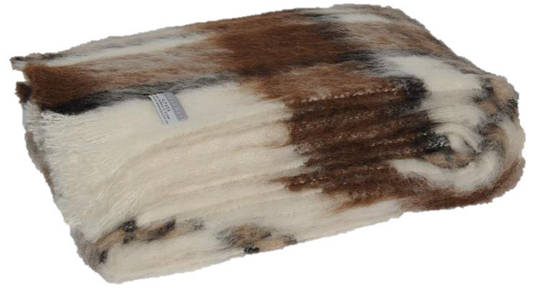 Alpaca Apache - Brushed Throw by Master Weave