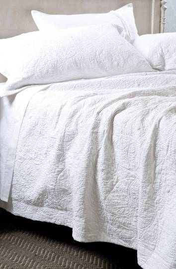 Bianca Lorenne - Amarento Duvet Cover / Pillowcase/Eurocase - White