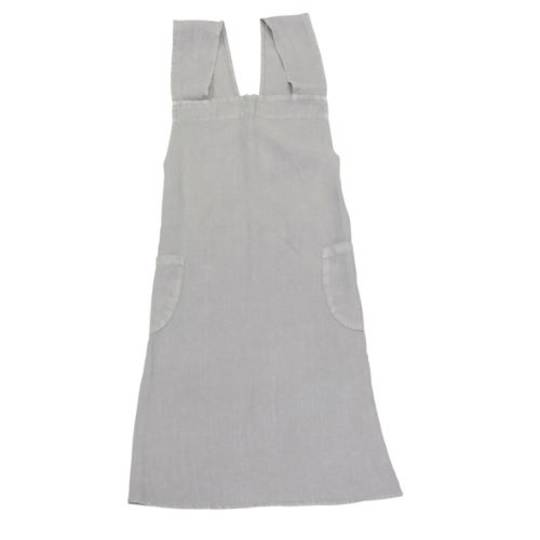 French Country - Aprons Cross Back - Grey, Navy, Pale Blue, Natural