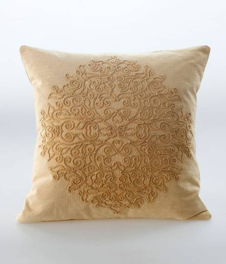 MM Linen - Auro Cushion -  Gold