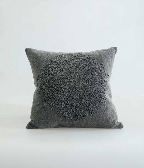 MM Linen - Auro Cushion - Charcoal
