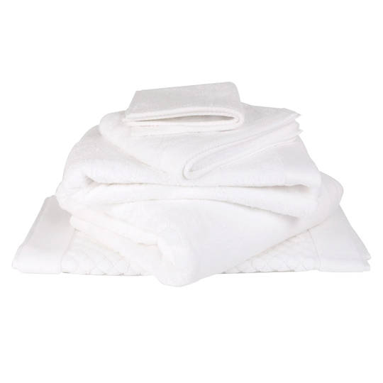 Baksana - Bamboo Towels - White