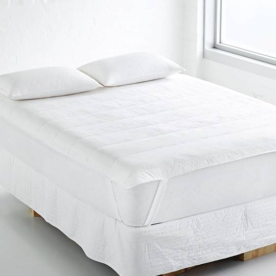 Fairydown - Washable Wool Mattress Protector