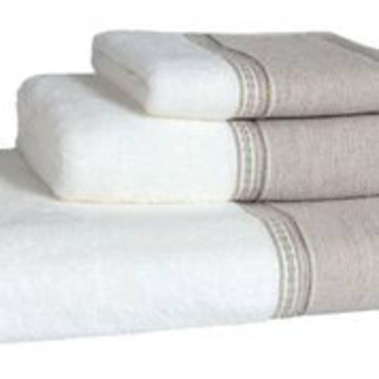Importico - Devilla - Boro de Lino Towels